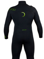 BP Long Arm Spring Suit Black Lime