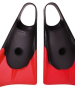Limited Edition Black Red bodyboard fins