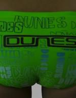 Boys swimwear lime green Dunes