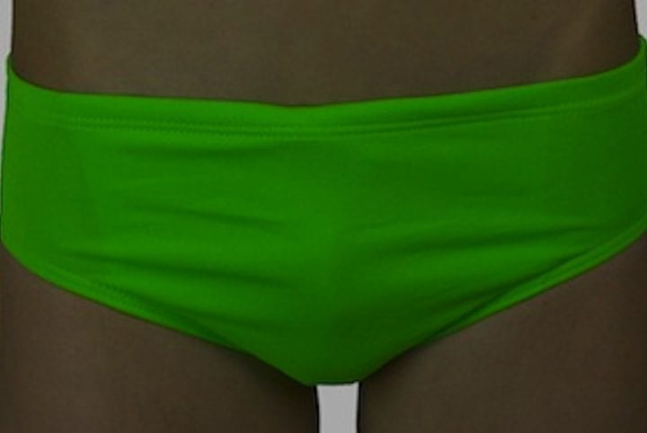 Boys swimwear lime green Dunes
