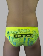Dunes Boys swimmers yellow