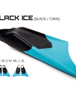 Limited Edition Black Ice bodyboard fins