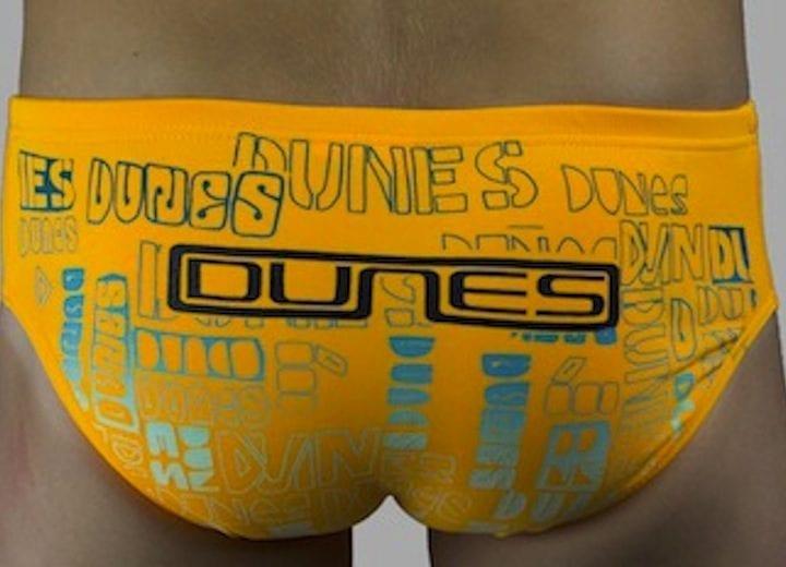 Dunes Boys swimmers orange