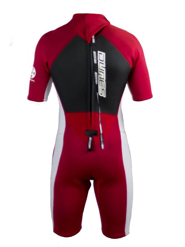 Dunes Warrior Spring Wetsuit 2mm Red White Dunes