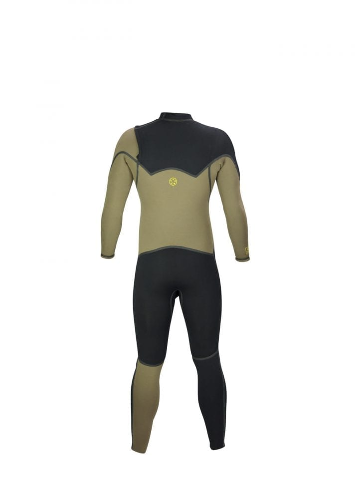 DNS Stone Tone Chest Zipper Steamer Wetsuit